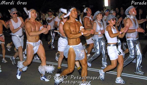 AUS NSW Sydney - Mardi Gras 2003 - 25th year