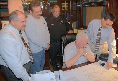 Traffic Concerns Meeting, PennDOT, Knowle's Office, Tamaqua (12-16-2011)