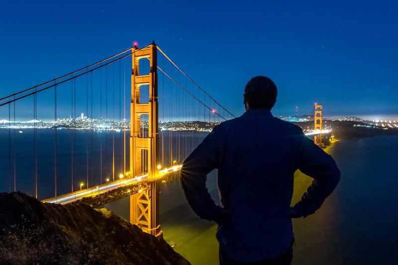 Golden Gate (a self portrait)