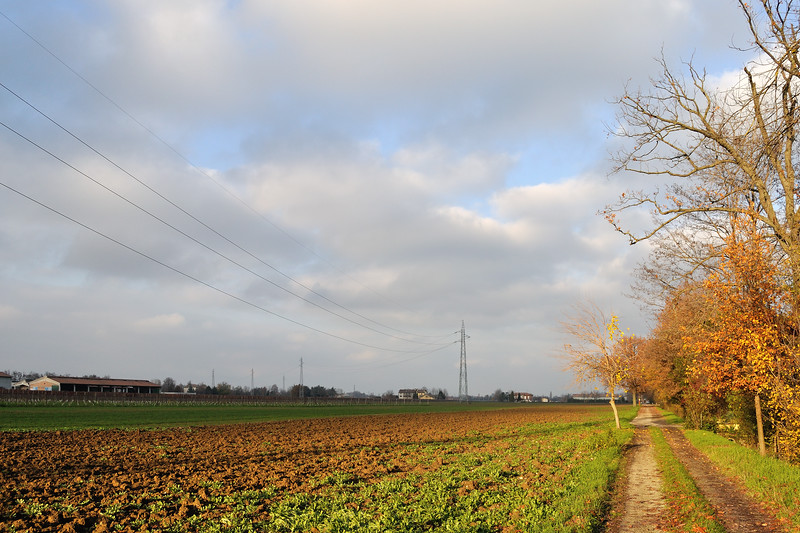 Via Delle Querce - Fellegara, Scandiano, Reggio Emilia, Italy - December 2, 2012
