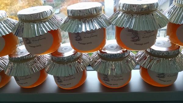 2015 Bee Club Honey Harvest