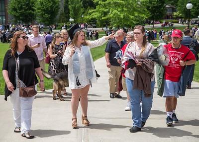 Renee Carlson's Marist Graduation  5-20-17