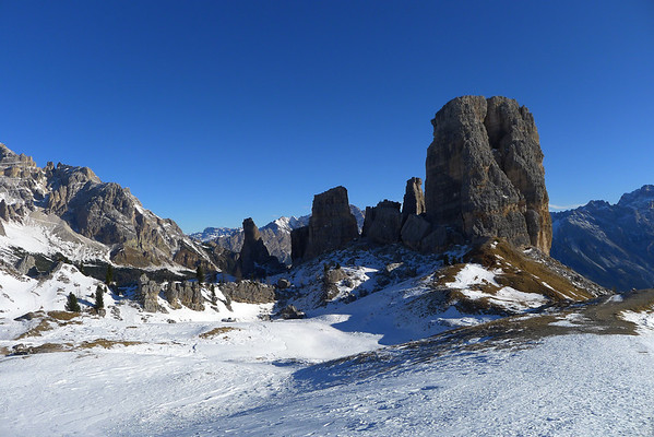 Skiing in the Dolomites 2012