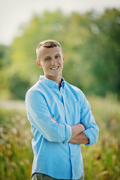 Senior Tyler James