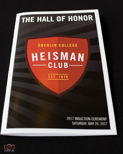 Oberlin Heisman Honor