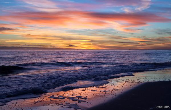 Sunset - Oak Island, NC