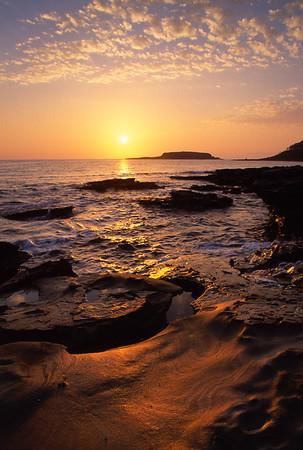 NSW coast.  Somewhere near Sydney.  Sunrise.