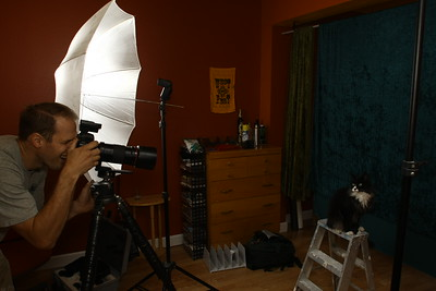 Photo Studio Portraits, practice and fun ones!