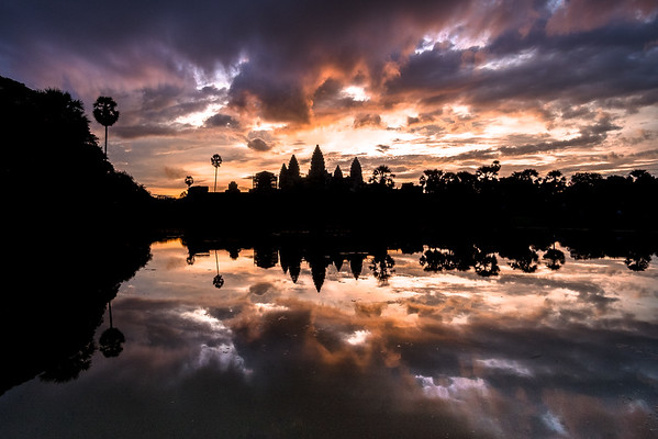 Vietnam, Thailand, and Cambodia Trip: Angkor Wat at Sunrise