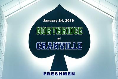 2019 FRESHMEN Northridge at Granville (01-24-19)