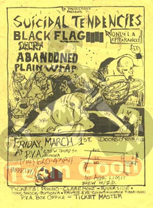 Suicidal Tendencies - Black Flag - Decry - The Abandoned - Plain Wrap