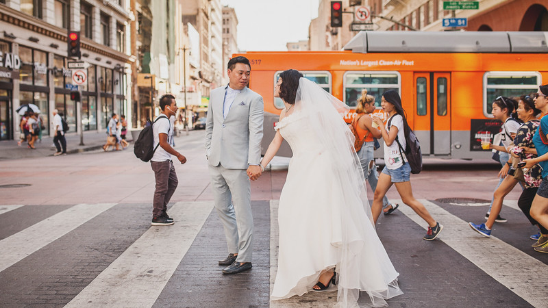 Pre-Wedding | DTLA Disney Concert Hall & Last Book Store