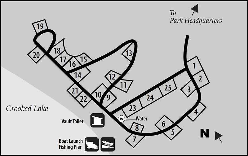 Pinckney Recreation Area (Crooked Lake Campground)