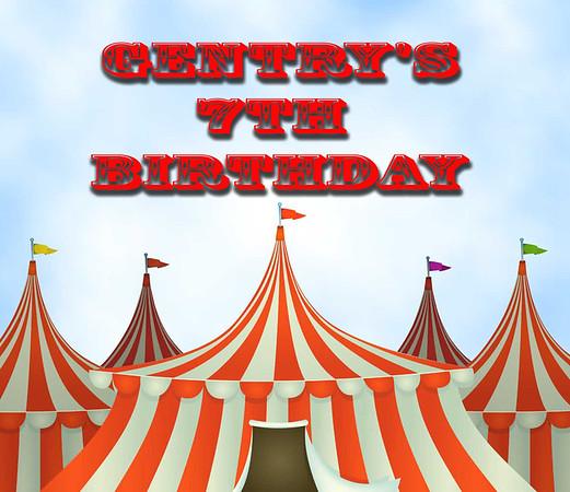 Gentry's 7th Birthday