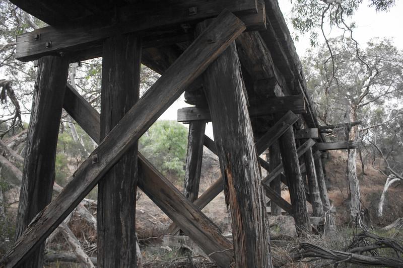Old Nanson bridge