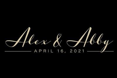 Alex & Abby 4/16/21