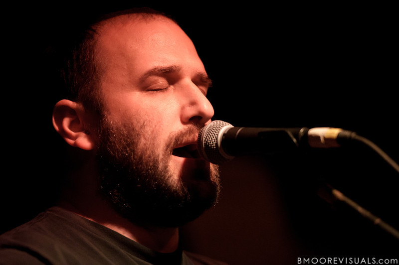David Bazan performs on November 30, 2011 at Crowbar in Tampa, Florida