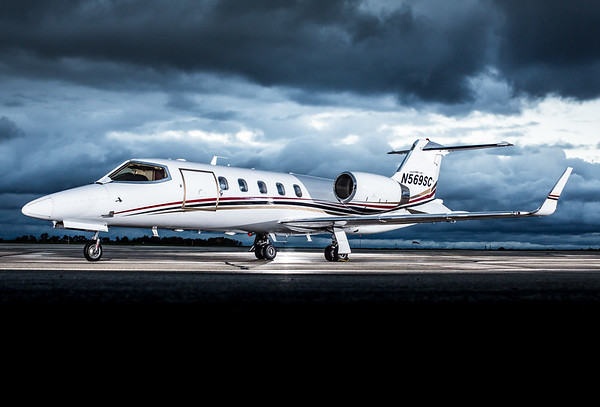 Lear Jet 31A N569SC (High Res)