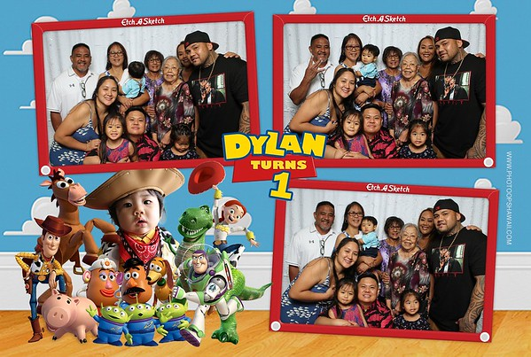 Dylan's 1st Birthday (Fusion Photo Booth)