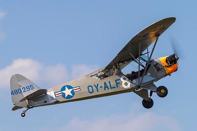 OY-ALF - Piper J3 C-65 Cub (L-4J)