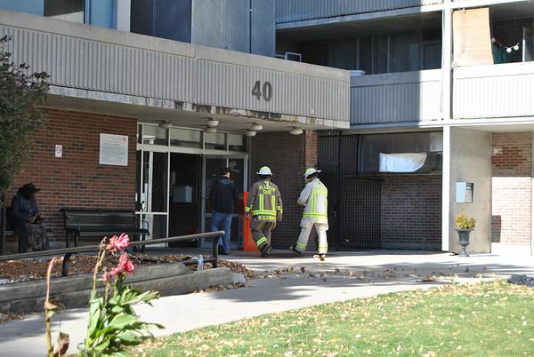 October 17, 2010 - 3rd Alarm - 40 Gordonridge Pl.