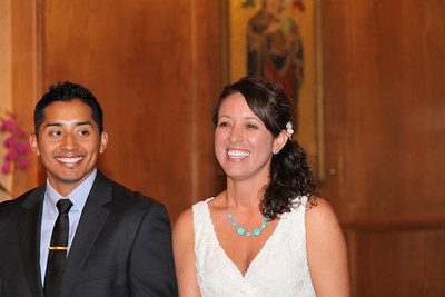 2011 -  Ali Nunez and Ric  Puentas - June 25, 2011 - St. Mary's Chapel
