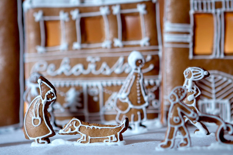 hand made christmas ginger bread