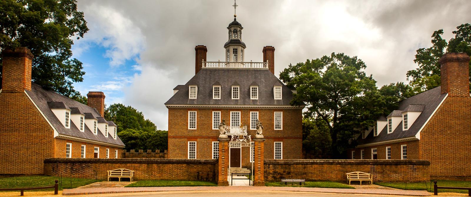 威廉斯堡,在美国最早的英国殖民地