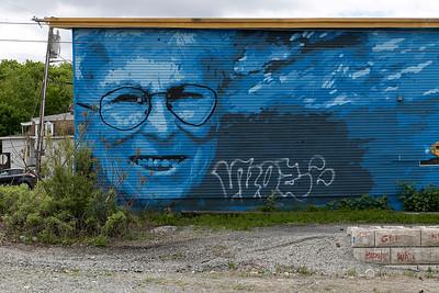 Mural Tagged, May 15, 2019