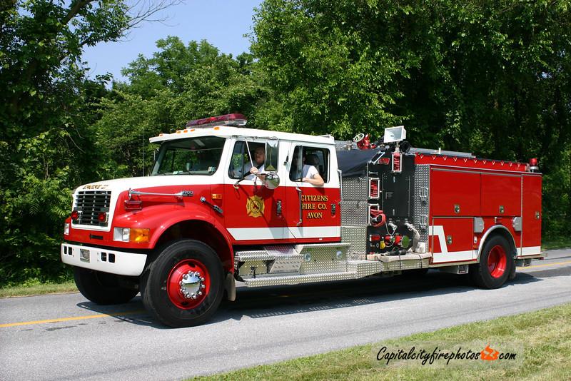 Avon Engine 27: 1999 International/New Lexington 1250/500