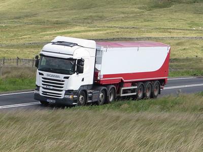 Woodhead Pass Trucks Aug 2020