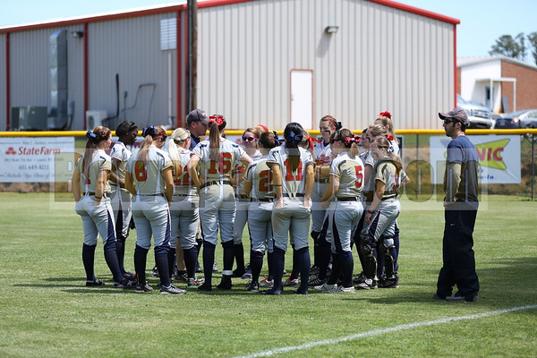 South Jones vs Seminary (JV & Varsity softball 2013)