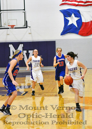 Varsity Lady Tigers vs Prairiland Lady Patriots 2-3-14