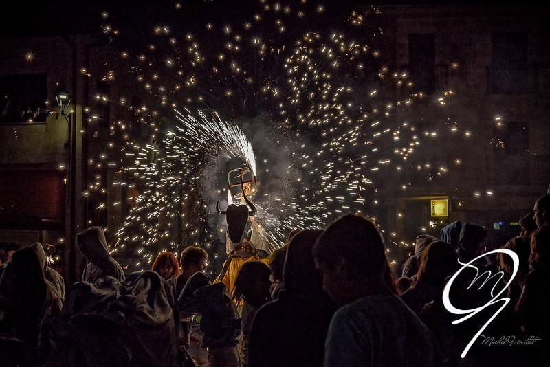 Toro de fuego en Alcañices - Zamora