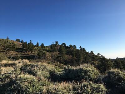 East Lightening Ridge and Jackson Flat Peak