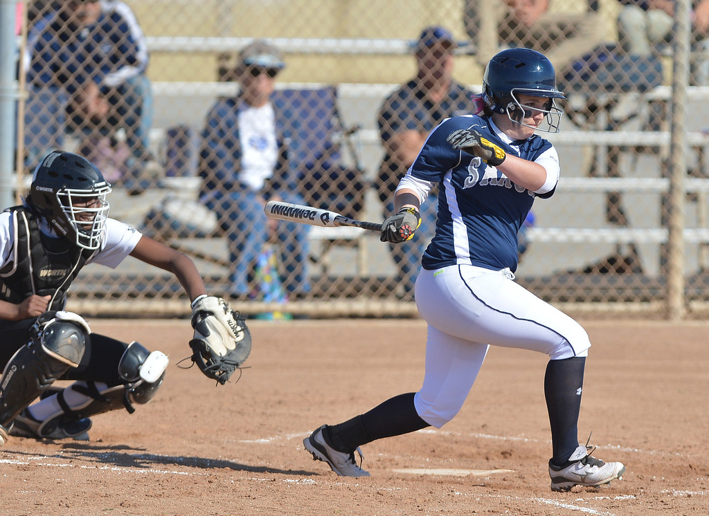 . 0314_SPT_TDB_L_CAR-NORTH--- Torrance, CALIFORNIA--3/13/13--- Staff Photo: Robert Casillas / LANG--- Carson at North Torrance softball.