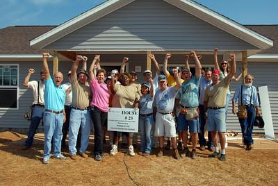 Homeowners with Volunteers