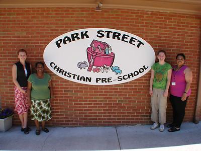Park Street Christian Preschool 2009