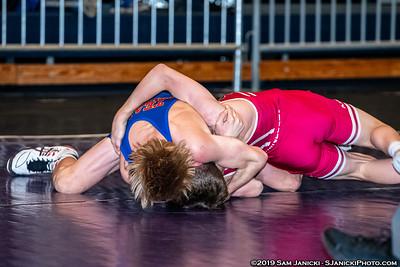 45kg - Gehloff def Volk - Greco Finals - UWW Cadet WTTs 2019