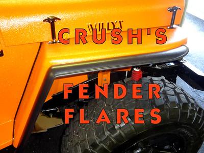 CRUSH'S FENDER FLARES