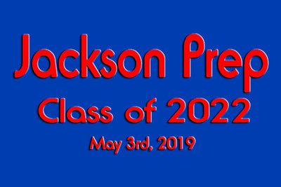 2019-05-03 Jackson Prep Class of 2022