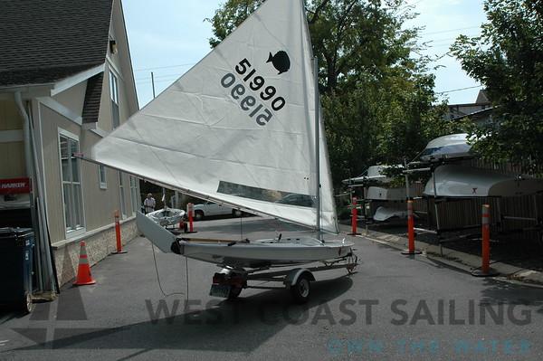 Sunfish Race Rigged Sailboat Photo Gallery