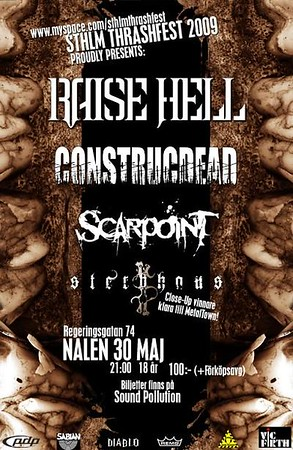 Scarpoint - STHLM Thrashfest, Nalen 30/5 2009