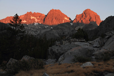 John Muir Trail Segment #1: Happy Isles To Reds Meadow, August 2013