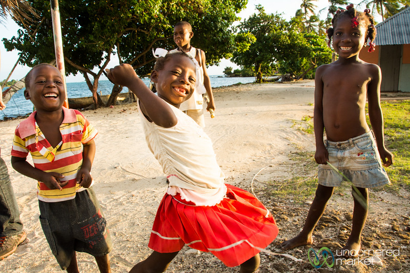 Haitian Kids Goofing Off - Les Cayes, Haiti