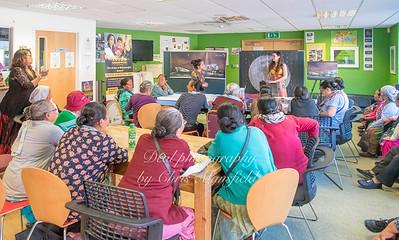 August 5th 2018 Aluna  moon clock presentation to local Nepalese widows