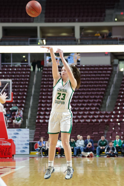 2020 Girls District 3 Finals | Central Dauphin vs. Central York | Giant Center | February 29, 2020