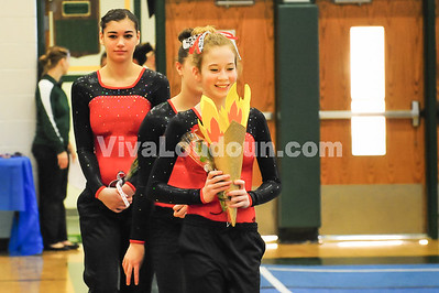 Gymnastics: Conference 15 Meet (2-1-2014 by Jeff Vennitti)