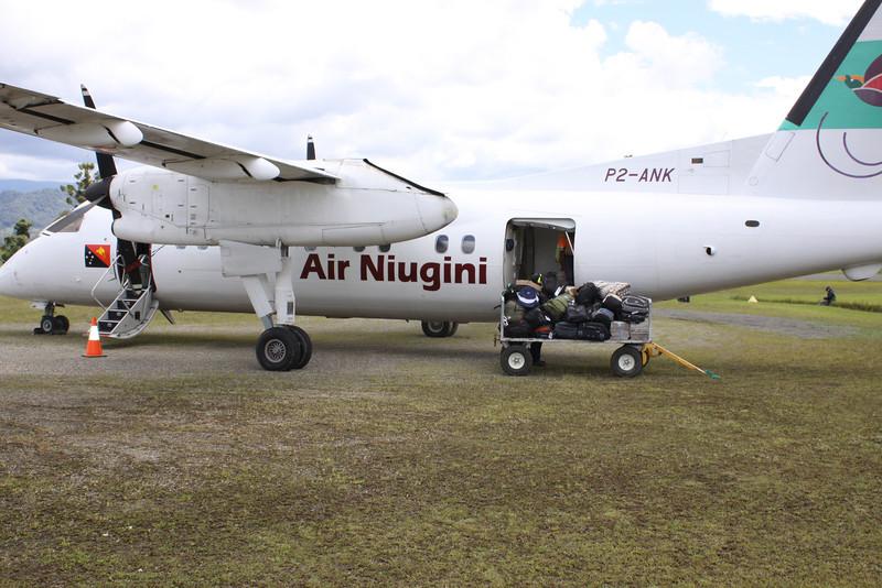 Landing in Tari