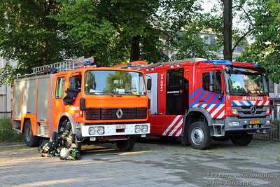Internationale brandweeroefening Vaals